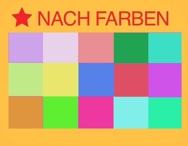 Spieldecken nach Farben